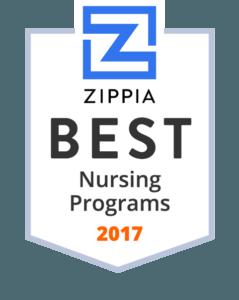 Zippia Best Nursing Programs 2017