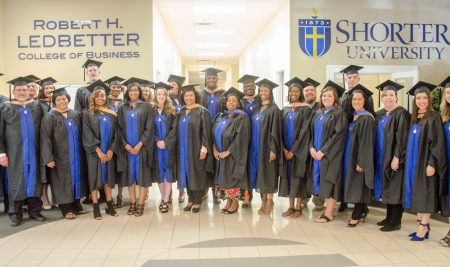 Shorter Holds Hooding Ceremony for Master's Graduates