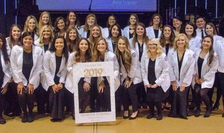 School of Nursing Holds Pinning Ceremony
