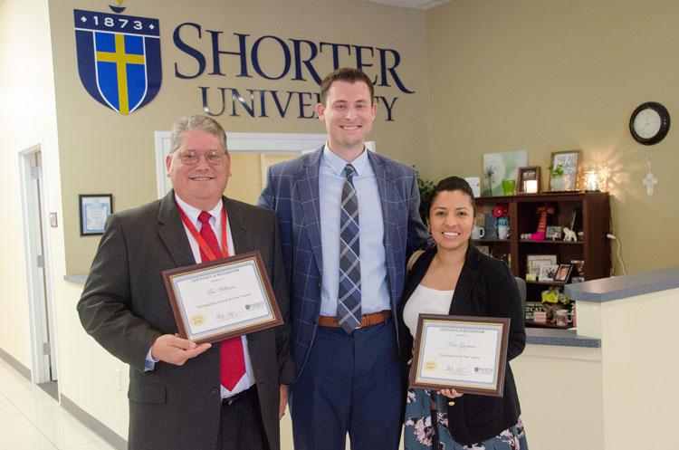 Tim Williams, Dr. Heath Hooper, and Nora Guzman