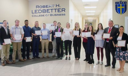 Ledbetter College of Business Presents End-of-Year Awards