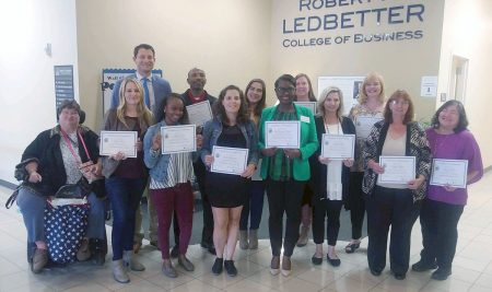 Ledbetter College of Business Hosts Comprehensive Business Development Program