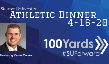 Shorter University's Athletic Dinner on Thursday, April 16