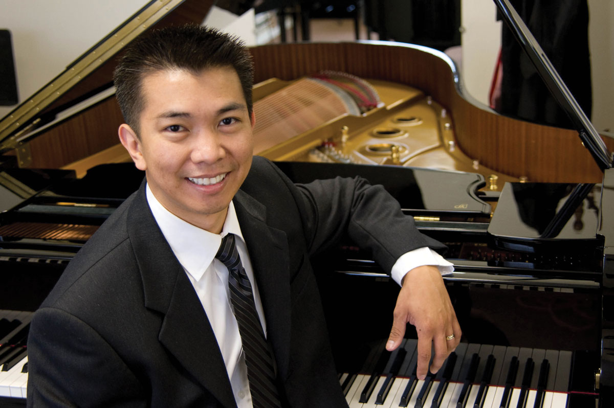 Pianist Jerico Vasquez
