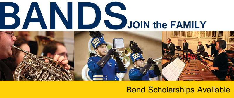 Shorter Bands - Join the family! / scholarships available