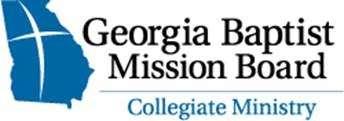 Georgia Baptist Mission Board Collegiate Ministry logo