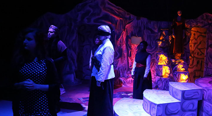 Theatre production at Shorter