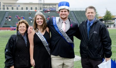 Waigand, Brooker Crowned Homecoming King and Queen