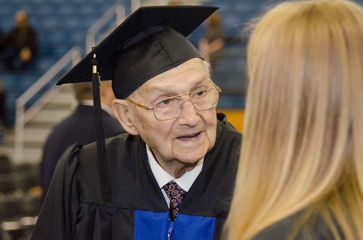 Rev. Horace Sheffield Receives Shorter University Diploma 58 Years ...