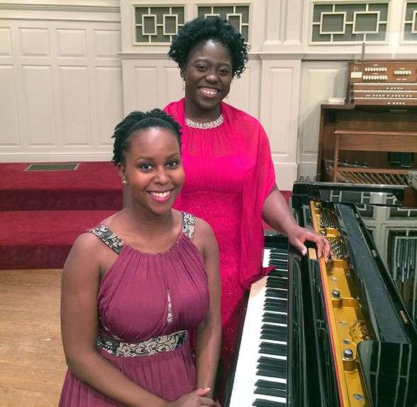 Soprano Mary Saintfort and Pianist Vashti Baluch