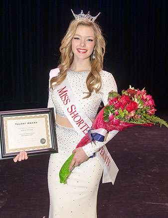 Miss Shorter University 2017 Emily Tyler