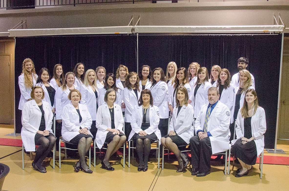 Group photo of Nursing students.
