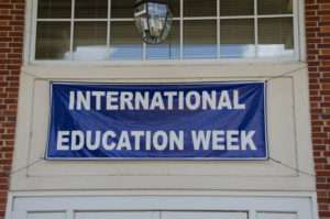 International Education Week is September 18-22,2017