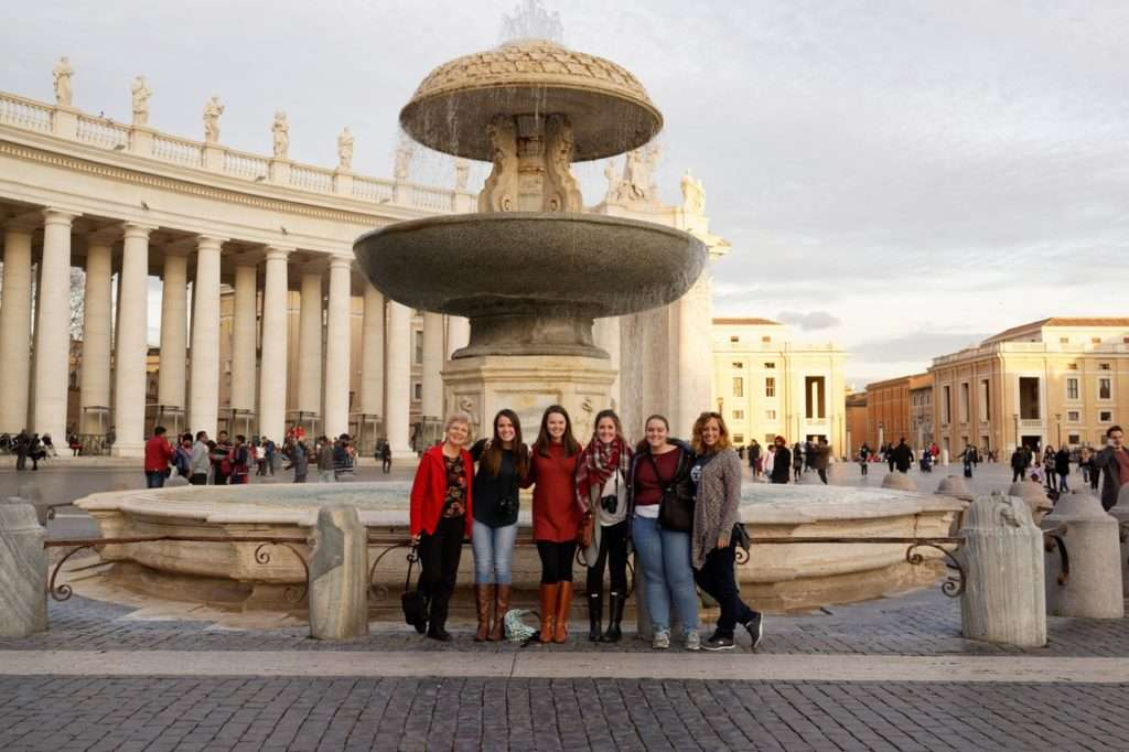Bryana Cuthbert is a Christian Studies major currently abroad with the program Rome with Purpose in Italy.