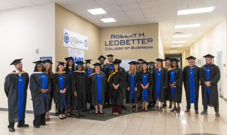 Shorter Celebrates Master's Graduates at Hooding Ceremony